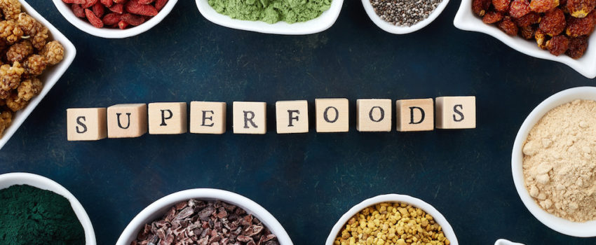 Superfoods have amazing health benefits