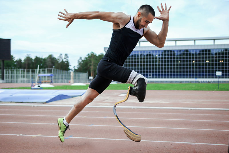 Running with a disability