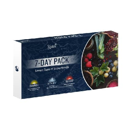 Kyani 7 day triangle health trial packs