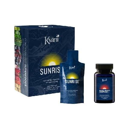 Kyani sunrise and sunset pack