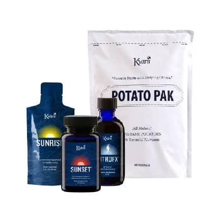 Kyani triangle of health pack with potato pak